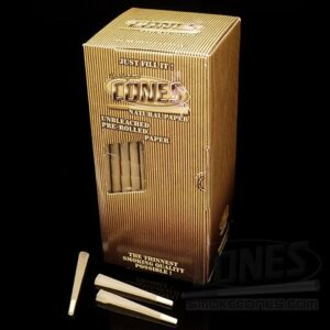 Smoke-Cones 109mm Bulk Box; Natural