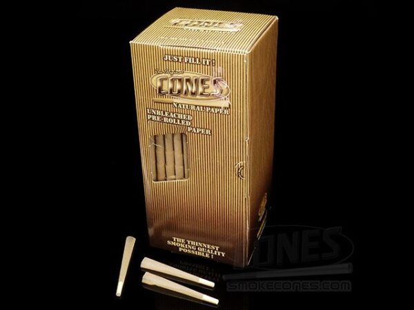 Smoke-Cones 98mm Bulk Box; Natural