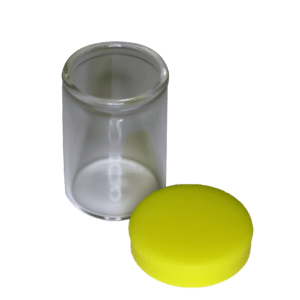 15ml Glass Jar with Silicone Lid