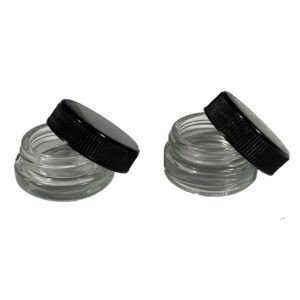 Black Lid for 7ml Glass Jar