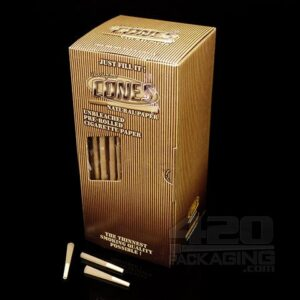 Smoke-Cones 70mm Bulk Box; Natural