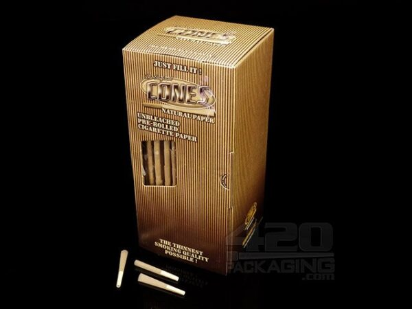Smoke-Cones 84mm Bulk Box; Natural
