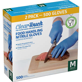 Nitrile Gloves – Box – M