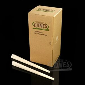 Smoke-Cones 109mm Bulk Box; Organic Hemp