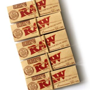 Papers: RAW 1.25 Rolling Papers with Tip