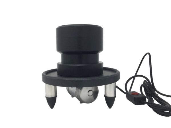 Smoke-Cones Vibrating Joint Roller Base Plate