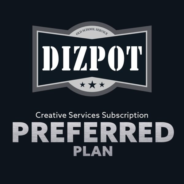 Creative Services Subscription Plan – Preferred Plan