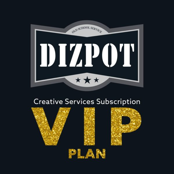 Creative Services Subscription Plan – VIP Plan
