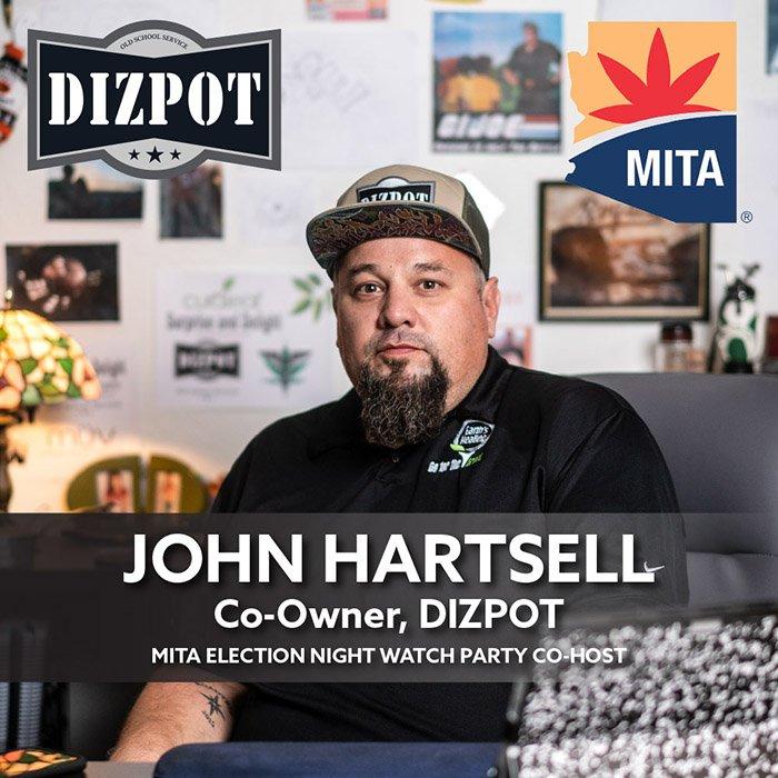 DIZPOT John Hartsell MITA Co-Host