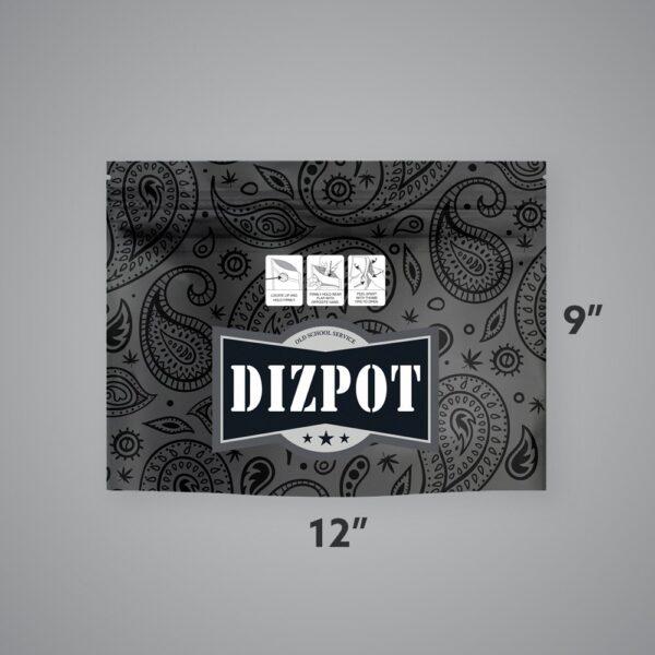 Custom Child-Resistant EXIT BAGS – Large, 12″ x 9″