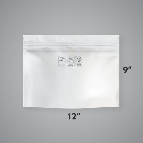Case of Generic Child-Resistant EXIT BAGS – Large, 12″ x 9″