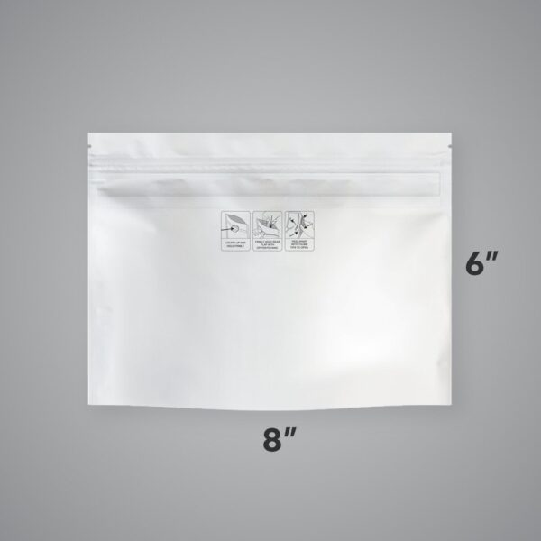 Case of Generic Child-Resistant EXIT BAGS – Small, 8″ x 6″