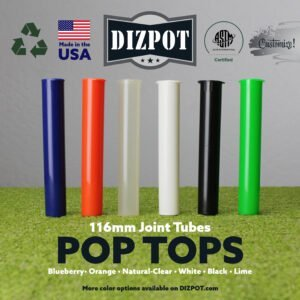 116mm Joint Tubes Pop Tops – Doob Tubes